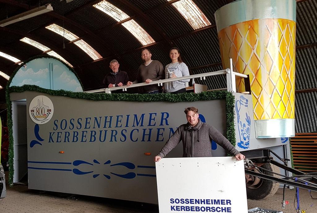 Sossenheimer Kerbeburschen Vertreten Die Stadt Frankfurt Offiziell Auf Dem Hessentag